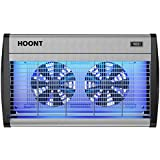 Hoont Innovative Electric Indoor Bug Zapper with UV Light and Dual Fans Fly Catcher Trap – Protects 4,000 Sq. Ft./Fly Killer and Mosquito Killer – For Residential and Industrial [UPGRADED]