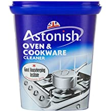 Liteaid ASTONISH 17-Ounce Oven and Cookware Cleaner, Container Tub of Paste for Cleaning Pot Marks on Fireclay and Porcelain Sinks