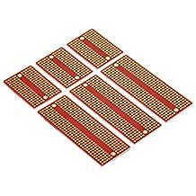 Gikfun Mini Solder-able Breadboard Proto Board PCB Diy for Arduino Sodering Kit (Pack of 6PCS) EK8467C_