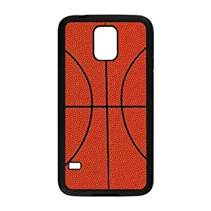 Popular Sport Basketball Pattern Samsung Galaxy S5 Protective Case Hot Sale Black/ White.