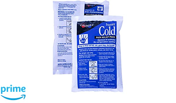 Amazon.com: Caldera Instant Cold Pack, 2-Pack by Caldera: Health & Personal Care
