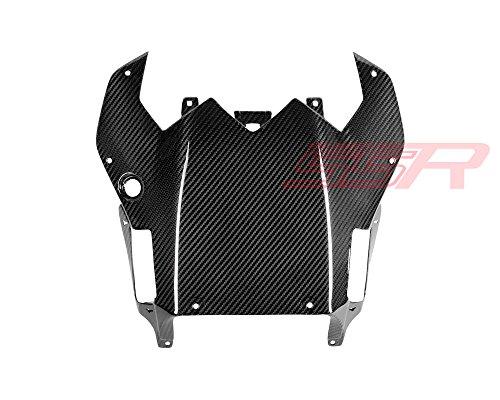 (2008-2015) Yamaha YZF-R6 (100%) Twill Carbon Fiber Rear Under Seat Tail Underside Lower Fairing (R6 Lower Yzf)