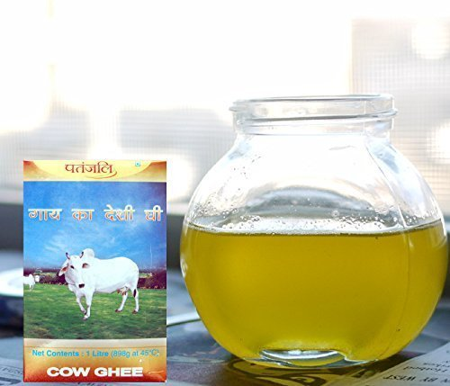 Patanjali Cow's Pure Butter (Desi Ghee), 1 Ltr