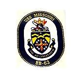 USS Missouri BB-63 Japan Surrender Sticker Decal Navy Marines Military Veteran Bumper Sticker