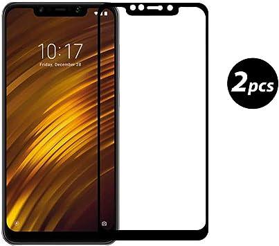 Xiaomi Pocophone F1 Protector de Pantalla, [2 Pack] Xiaomi ...