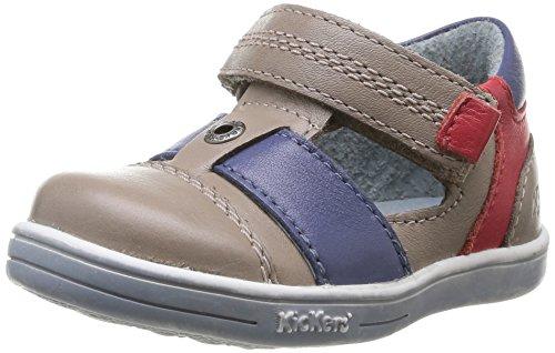 Kickers Bleu bébé garçon Chaussures Tropicali premiers pas Beige Beige FvFZSq