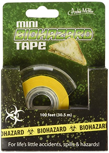 Mini Biohazard Tape Novelty Gift