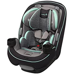Get the car seat that's built to grow! From your first ride together coming home from the hospital to soccer day car pools, the 3-in-1 Grow and Go Car Seat will give your child a safer and more comfortable ride. Featuring extended use at each...