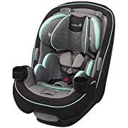 Safety 1st Grow and Go 3-in-1 Convertible Car Seat, Aqua Pop