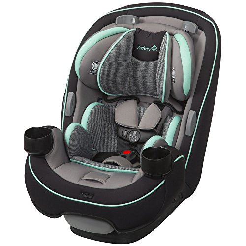 Safety 1st Grow and Go 3-in-1 Convertible Car Seat, Aqua Pop (Best Car Seat For Infant Through Toddler)