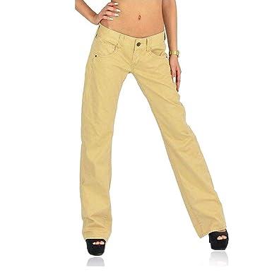 einzigartiges Design noch nicht vulgär wie man kauft Replay Chino Damen Jeans Hose WV531 .000 8608.220 beige ...