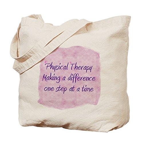 CafePress - Physical Therapy - Natural Canvas Tote Bag, Cloth Shopping Bag
