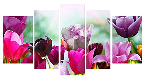 Costumes Australia Next Day Delivery (Ode-Rin Art Christmas Gift Prints Artwork Painting Pictures on Canvas for Living Room and Kitchen Wall Art Modern Giclee Beautiful Flowers Artwork Wooden Frame Insided Ready to Hang Home Decor)