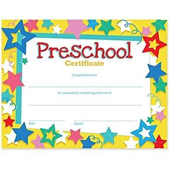 Amazon Com Trend Enterprises Inc Preschool Diploma 30 Ct