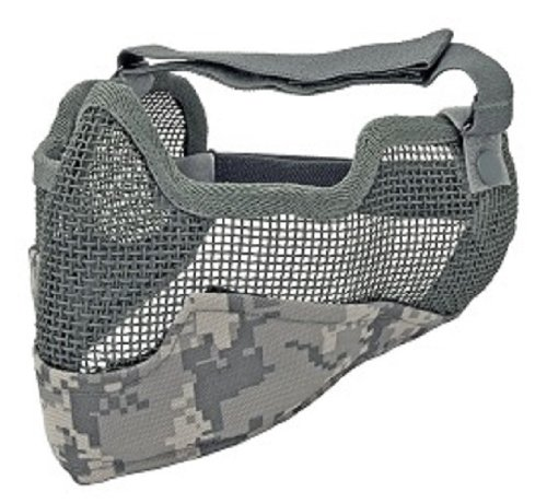 Generic 3G Airsoft Face Mask, Acu