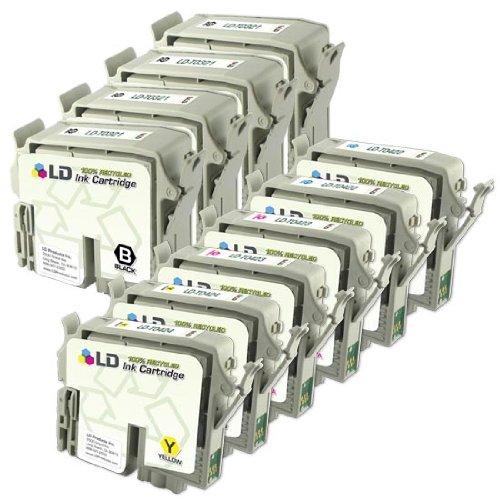 LD © Remanufactured Set of 10 Ink Cartridges