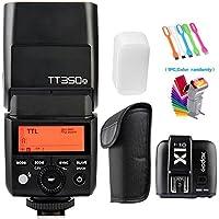 Godox TT350-O TTL GN36 HSS 1/8000s 2.4G Flash Speedlite +X1T-O Wireless Trigger for Olympus E-M10II,M5II,M1,PL8,PL7,E-PL6,E-PL5,E-P5,E-P3,PEN-F,Panasonic DMC-GX85,DMC-G7,DMC-GF1,DMC-LX100,DMC-G85