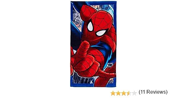 /Disney / Spiderman Toalla de playa /70/x 140/cm Marvel/ toalla de playa calidad Premium 100/% algod/ón grueso Touch/é terciopelo 360gm//M2