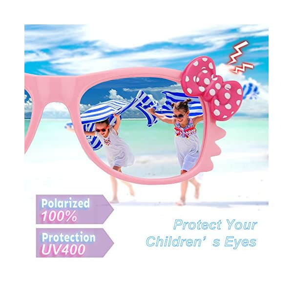 049a54a626 RIVBOS RBK002 Rubber Flexible Kids Polarized Sunglasses for Baby and Children  Age 3-10 (Mirrored Lens Available) – Your Sun Glass Store