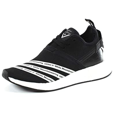 84e310bf8ff49 adidas x White Mountaineering NMD R2 Pk BB2978 Core Black   White Mens sz  6.5us