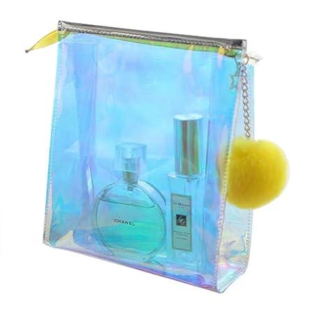 eae64ca72ac5 Greencolorful Makeup Bag,Bright Colorful Toiletry Bag,Laser ...