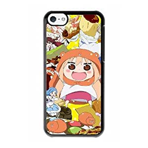 Grouden R Create and Design Phone Case, himouto umaru chan Cell Phone Case for iPhone 5C Black + Tempered Glass Screen Protector (Free) LPC-8029514