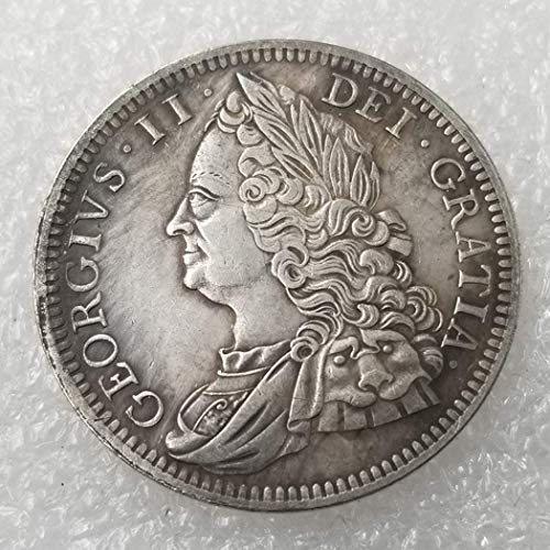 OppoLing 1746 United Kingdom Old Coins - British Old US Coin-UK Old Coin Collecting - US Dollar Old Coin - Uncirculated/Collectable Condition Best Product