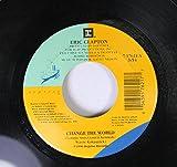 Eric Clapton 45 RPM Change The World / Danny Boy