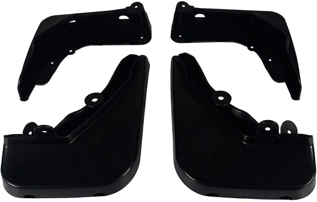 Set of 4 Mud Flaps Splash Guards for Mercedes-Benz W212 E200 E250 E300