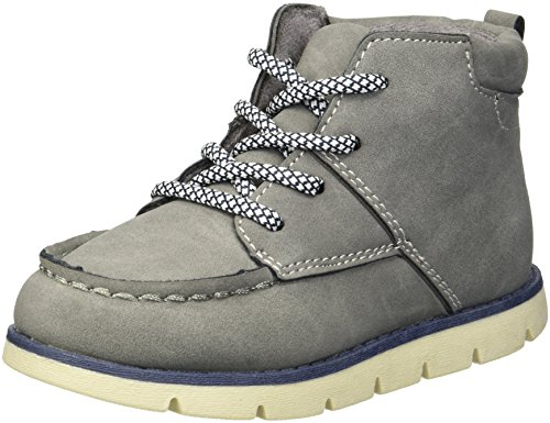 Pictures of OshKosh B'Gosh Boys' Wildon Ankle Boot, Charcoal, 8 M US Toddler 1