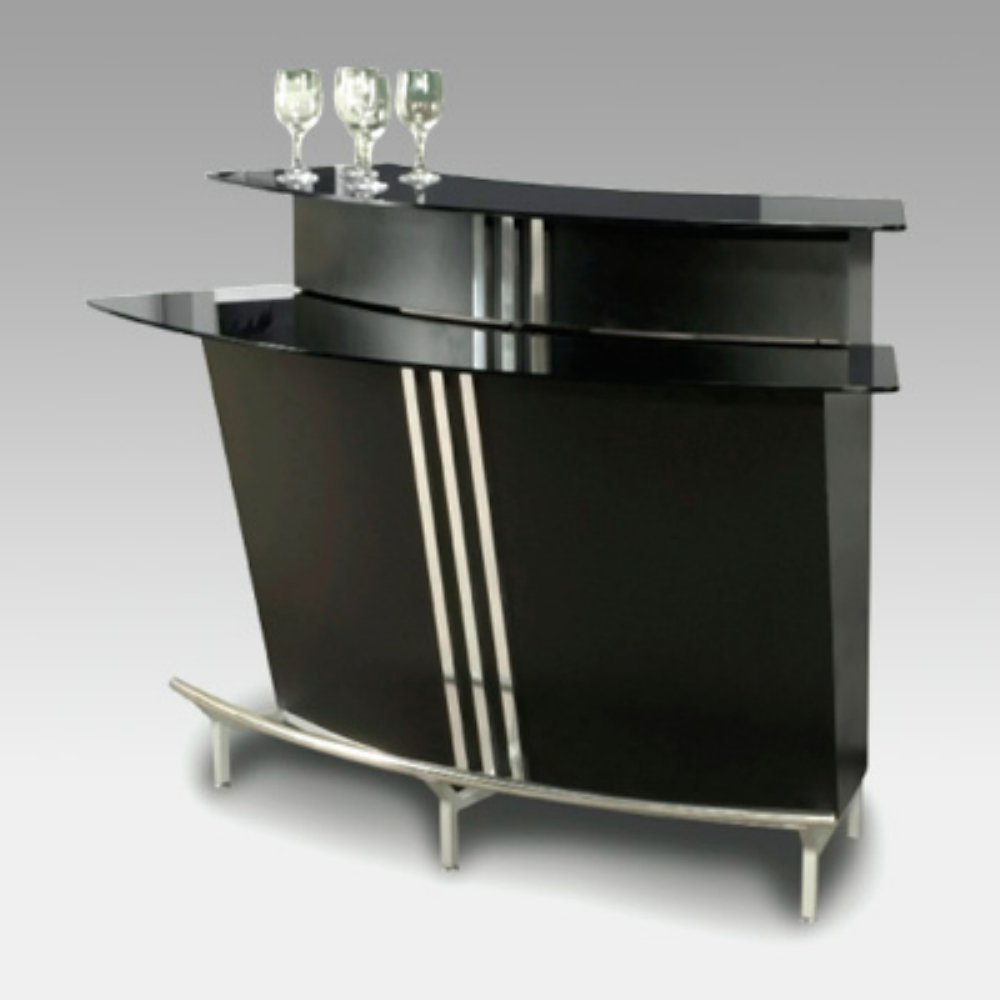 contemporary home bar furniture. Amazon.com - Chintaly Broadway Two Tiered Indoor Home Bar Kitchen \u0026 Dining Room Furniture Contemporary N