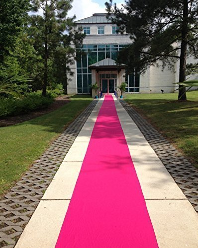 Hot Pink Aisle Runner