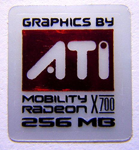 Original ATI Mobility Radeon X700 256MB Sticker 16 x 17.5mm [305] (X700 Radeon Ati 256mb)
