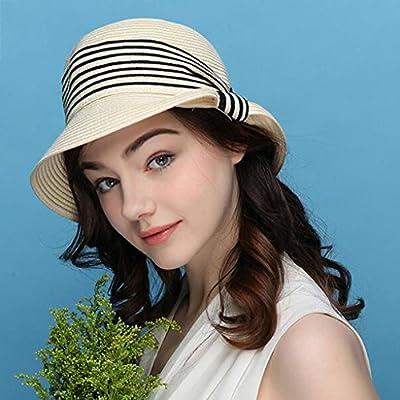 eb7fb9a9dc618 YXINY Viseras Sombreros Mujer Primavera Y Verano Visor Elegante Protección  Solar Sombrero para El Sol Vacaciones. Cargando imágenes... Atrás. Pulsa ...