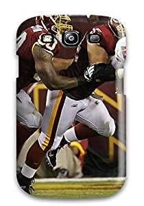 New Style Tpu S3 Protective Case Cover/ Galaxy Case - Washingtonedskins L