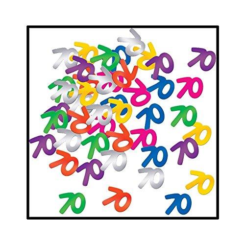 Fanci-Fetti 70 Silhouettes (multi-color) Party Accessory - Multi Fanci Fetti Color