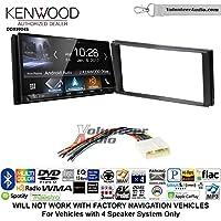 Volunteer Audio Kenwood DDX9904S Double Din Radio Install Kit with Apple CarPlay Android Auto Bluetooth Fits 2014-2015 Subaru Forester, 2012-2014 Subaru Impreza
