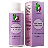Hair Conditioner for Dry + Damaged Hair – Moisturizing Argan Oil Treatment for Frizzy + Brittle Hair – Prevent Breakage + Natural Growth – Sulfate Free Deep Conditioner for Men + Women with Keratin For Sale