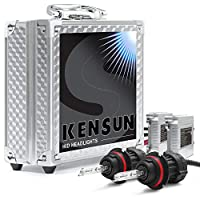 Luxury - High/Low Beams HID Xenon Headlight AC Conversion Kit by Kensun - -