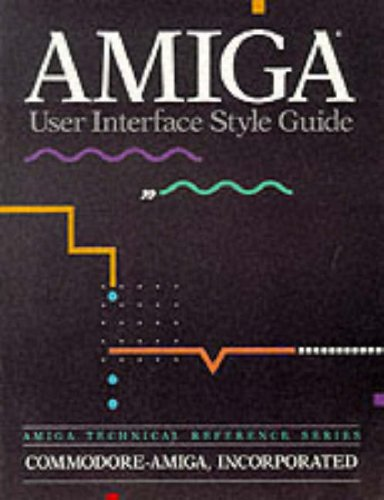 AMIGA User Interface Style Guide