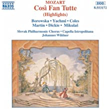 Mozart: Cosi Fan Tutte (Highlights)