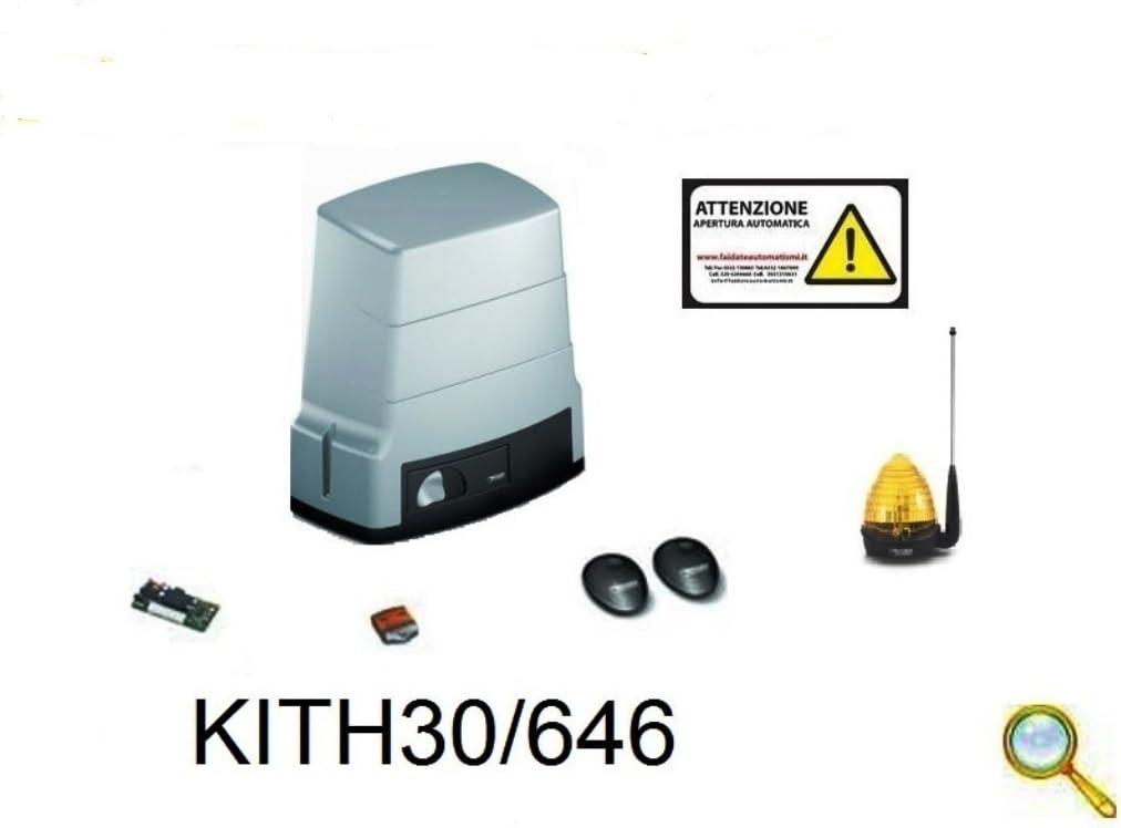 Kit AUTOMAZIONE Puerta Corredera 230 V max 600 kg kith30/646 Roger Technology: Amazon.es: Electrónica