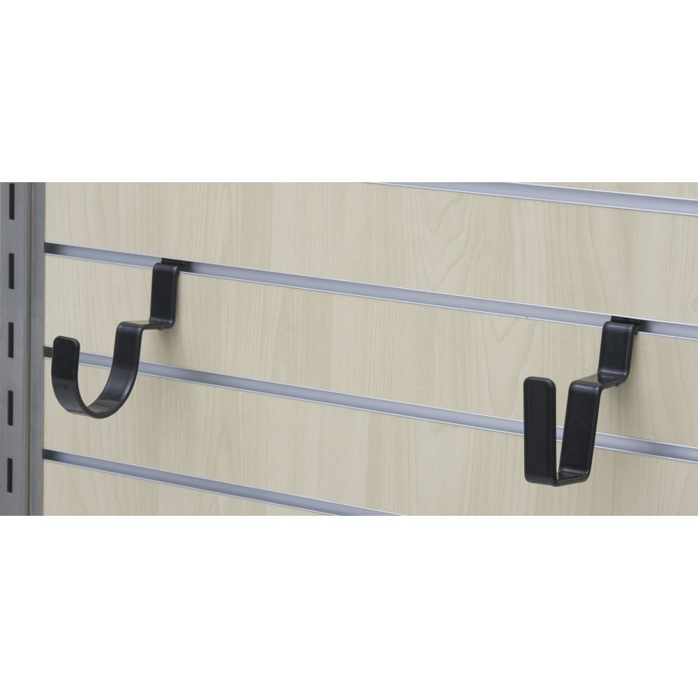 Round and Square Loop Slatwall Rifle Brackets, Set 2