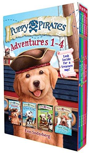 Puppy Pirates Adventures 1-4 Boxed Set (Girl Pirates)