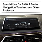 (US) LFOTPP Tempered Glass Screen Protector for 2016 2017 BMW 7 Series 730 740 750 760 Navigation System Screen / Center Touch Display Screen Anti Scratch High Clarity
