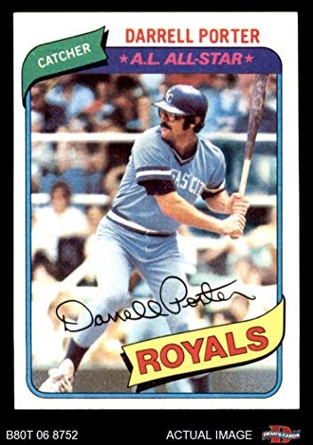 - 1980 Topps # 360 Darrell Porter Kansas City Royals (Baseball Card) Dean's Cards 8 - NM/MT Royals