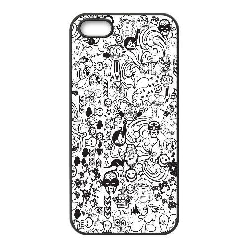 Zed Duo Comics Ilike Com CS54CD2 coque iPhone 4 4s téléphone cellulaire cas coque M4FX0S8LM