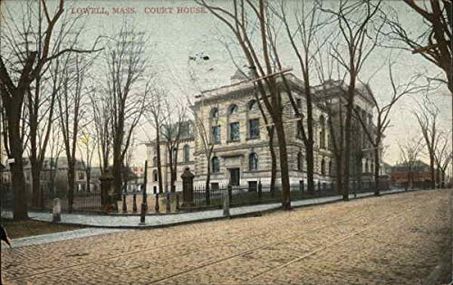 Court House Lowell, Massachusetts Original Vintage - Lowell House