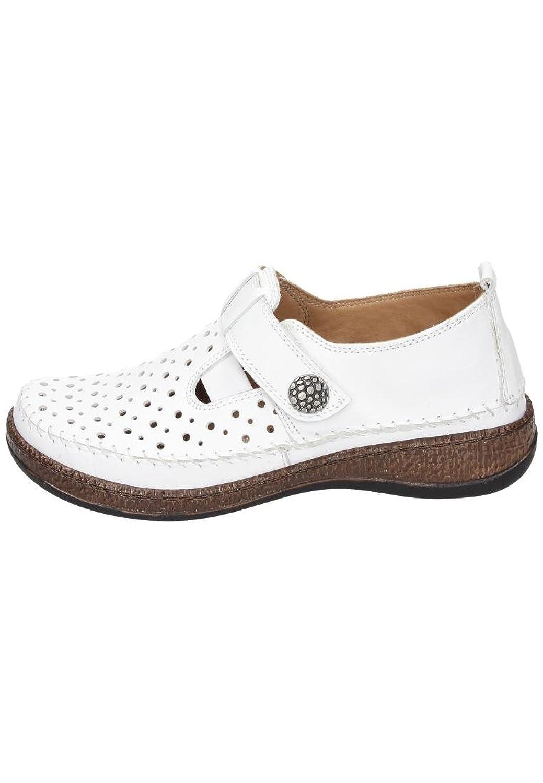 Comfortabel Damen-Slipper Weiß 941861-3, Grösse 38