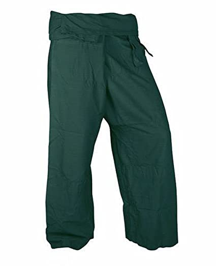28e20ee0e63 Image Unavailable. Image not available for. Color  Lovely Pants Rayon  Fabric Yoga Trousers Thai Fisherman ...